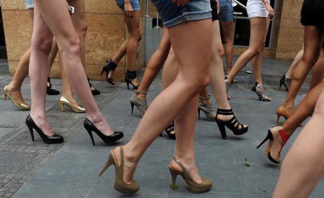 High-Heels-walking